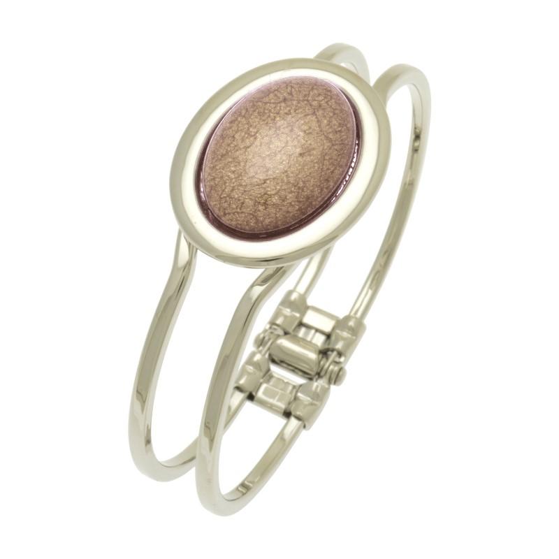 Flesh Marble Resin Bracelet