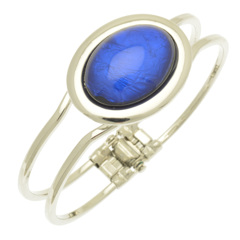 Blue Foil Bracelet