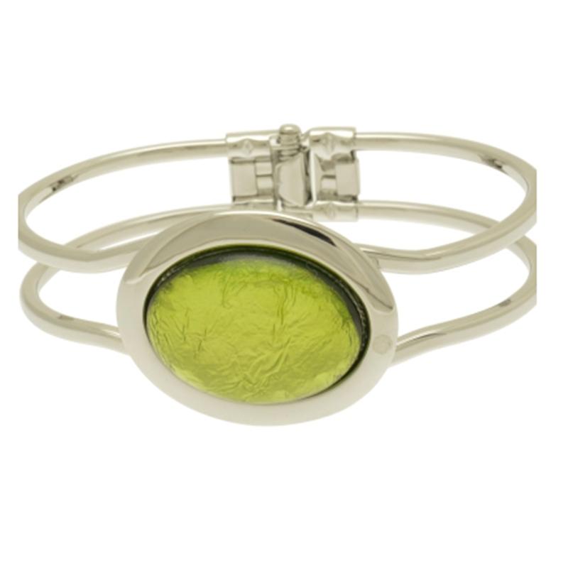 Green Foil Bracelet