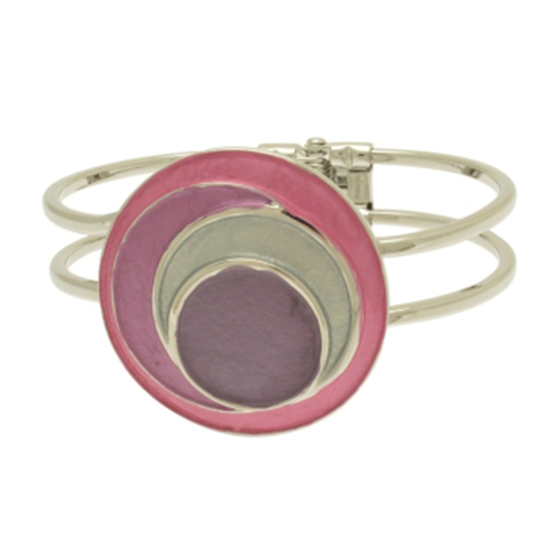 Pink / Purple Circles Bracelet