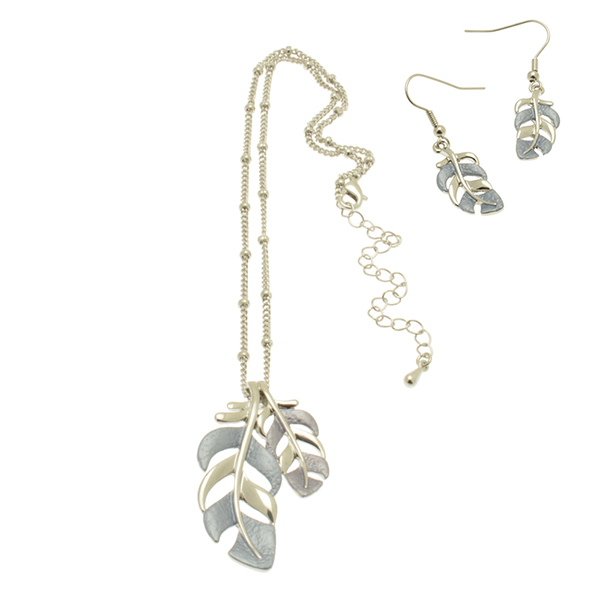 serenarts-gallery-leaf-necklace-and-earring-set
