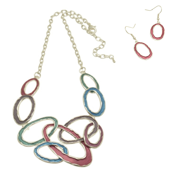 serenarts-gallery-link-necklace-and-earring-set