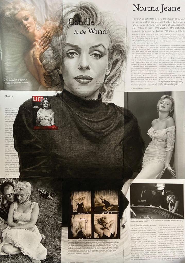 serenarts gallery - Adrian Thompson Boyce - Marilyn