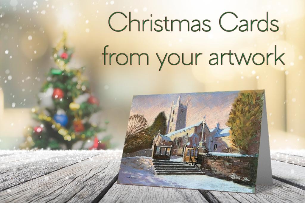 serenarts christmas card printing